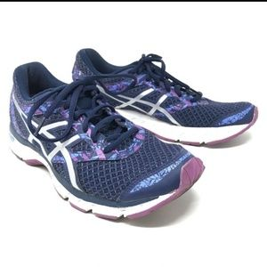 Asics Gel Excite 4 Running Shoes 9.5 Blue Purple